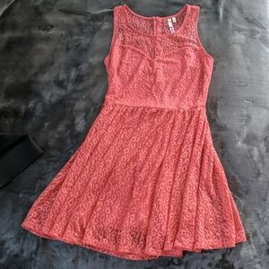 Three Hearts Skater Dress in Small
